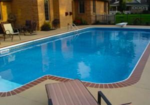 Decorative Concrete Pool Deck La Plata Maryland 2